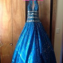 Prom/pageant Dress Size 10 Long Tiffany Photo