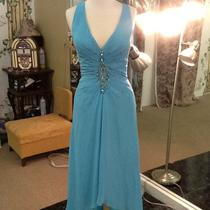 Prom Pageant Dresses Aqua Size 10 Photo