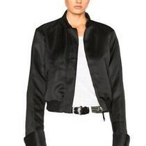 Protagonist Bomber Black Satin Jacket Large Balenciaga Ann Demeulemeester Haider Photo