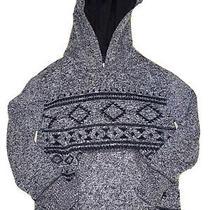 Ps Aeropostale Boys Thick Hoodie Sweatshirt -Size 5 Aztec Print Photo