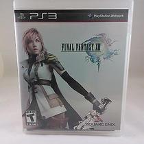 Ps3 - Final Fantasy Xiii 13 (Sony Playstation 2009) Photo