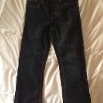 Psny P.s. Aeropostale Boys Denim Jeans Dark Wash Size 8  Straight Nwt Photo