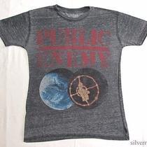 Public Enemy T Shirt Distressed Thin Fear of a Black Planet Rap Hip Hop Photo