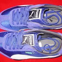 Puma 76 Runner Nylon Women's Liberty Purple-White Size 5.5 New Photo