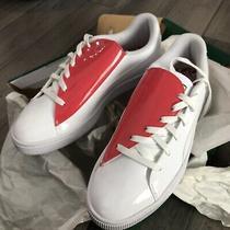 Puma Basket Crush Hibiscus (Womens Size 8.5) Athletic Casual Sneaker Shoe Photo