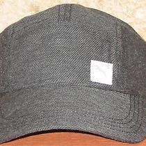 Puma Bike Racer Cap Hat Adjustable Grey Cotton Smaller Sizing Photo