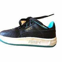 Puma Black Blue Gv Special Baby Boys Girls Toddler Tennis Shoes Sneakers Size 6 Photo