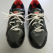 Puma Black Silver and Red Running Shoes. Men's 11.5 (Eur 45)  Photo