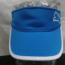 Puma Blue Adjustable Visor Photo