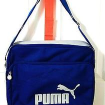Puma Blue Messanger Laptop Bag Photo