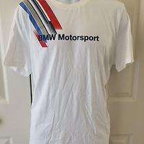 Puma Bmw Motor Sport Collection Racing  Cotton T-Shirt White Photo