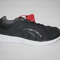 Puma Bolt Faas 400 Mens Black Mesh & Synthetic Athletic Sneaker Size 11.5 Eur 45 Photo