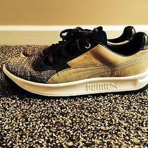 Puma Brown and Tan Low-Tops Size 10 Photo