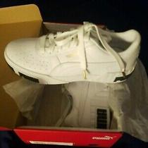 Puma Cali Bold Womens Sneakers White Size 9 (Retail 80.00) Photo