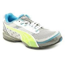 Puma Cell Vetara Womens Size 6 Gray Mesh Running Shoes Photo