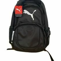 Puma Challenger Backpack Fully Padded 15 Laptop Pocket Black Photo