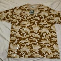 Puma Elemental Tee Desert Camo Men Xl Nwt T Shirt Brown Tan Photo