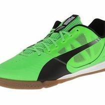 Puma Evospeed Sala Low Sneakers Trainers Sport Men Shoes Green/black Size 11 New Photo