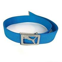 Puma Fade Turquoise Web Youth Golf Belt 37 Inch Photo