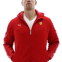 Puma Ferrari Men's Softshell Jacket Lightweight Coat Photo