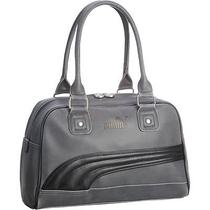 Puma Foundation Handbag Grey/black Women's Handbag New  Photo