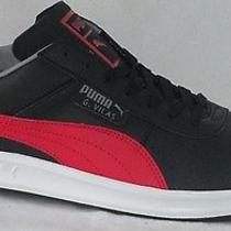 Puma G. Vilas L2 Black/red/gray Athletic Sneakers Walking Men Shoes Size 9.5 Photo