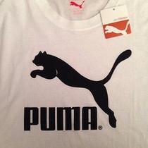 Puma Graphic Tee White Photo