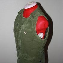 Puma Green Corduroy Vest  Photo