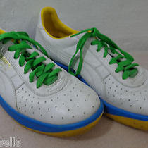 Puma Gv Special Gym Shoes White Blue Gold Green Us 10.5 Eu 44 Uk 9.5 Sneakers Photo