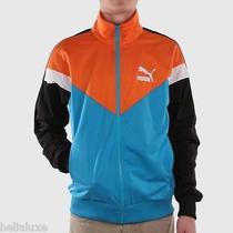 Puma Icon Mcs Jacket Hip Hop Classic Track Sweat Shirt Colorblock Topmens Sz Xl Photo