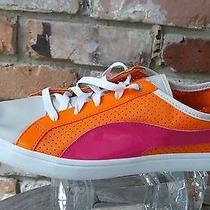 Puma Kai Lo Performance Womens Size 8.5/39 Orange Textile Sneakers Shoes No Box Photo
