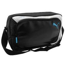 Puma King Messenger Bag Black/white Sports Shoulder Flight Carryall Photo