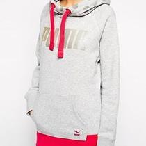 Puma Ladies Light Grey & Heather Hoodie Size 8 Photo