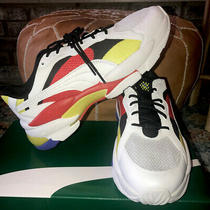 Puma Lqd Cell Epsilon  Red White Yellow and Blue Mens Running Shoessz 9.5 Ds Photo