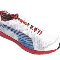Puma Men's Bolt Evospeed White/limoges/ribbon Red Running Shoe Us 13 Photo