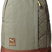 Puma Men's Switchstance Backpack Bag - Burnt Olive Tan Brown Photo