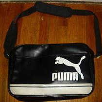 Puma Messenger/shoulder Bag Black  Photo