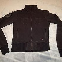 Puma Motorcycle Jacket  Puma Motorcycle Track Jacket  Women's Xs  Black  Photo
