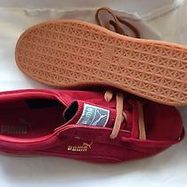 Puma Original Suede Mens Athletic Sneakers Size Us 11 Color Chili Pepper Red Photo