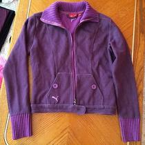 Puma Purple Sweatershirt - Small Photo