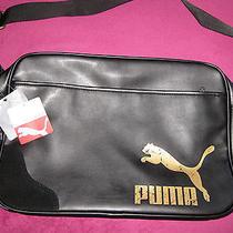 Puma Retro Reporter Black Bag Photo