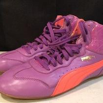 Puma Ring Purple and Pink Shoes Size 8w 34526701 Photo