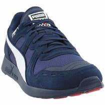 Puma Rs-100 Racing Flag Lace Up  Mens  Sneakers Shoes Casual   - Blue Photo