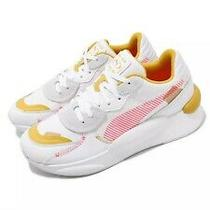 Puma Rs 9.8 Proto Wns Running System White Pink Yellow Women Shoes 370393-01 Photo