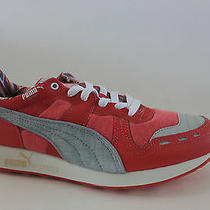 Puma Rs100 Women Pink Canvas Synthetic & Leather Athletic Size 7.5 M Eur 38 Nib Photo