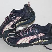 Puma Sierra Trail Racer Running Shoes 181376-13 Navy/pink Womens Us Size 8.5 Photo