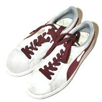Puma Suede Sneakers Shoes Women's Gray Maroon Size 8.5 Running Walking 35656830 Photo