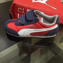 Puma Toddler Boy Kids Sneakers Shoes Size 9 Photo