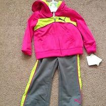 Puma Toddler Track Outfit for Girls Size 18mos Photo