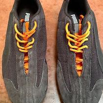 Puma Training Sneakers Black and Orange  Mens Size 8 Photo